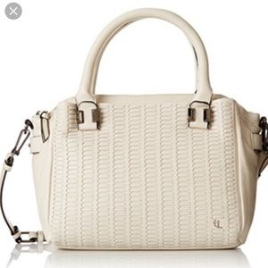 Isabella Woven leather Satchel